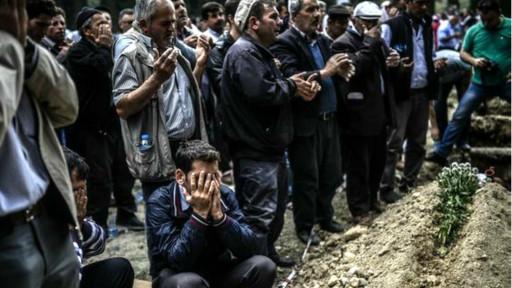 Sivas'ta Soma Madencileri İçin Mevlid-İ Şerif Okutuldu